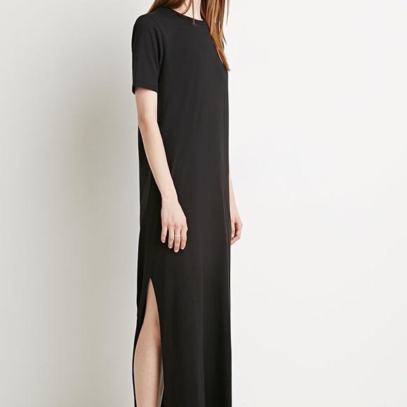 127f7fdcd0 H&M Dresses | Maxi Tshirt Dress | Poshmark